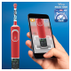 Oral-B Vitality 100 Kids Starwars + gratis Reiseetui Motiv Starwars - Kompatibel mit der Disney Magic Timer App von Oral-B